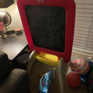 Kids Easel Chalk/Dry Erase Board for Sale in Irvine, CA