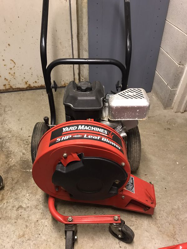 Yard Machine leaf blower