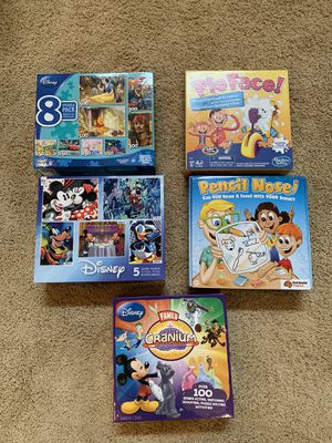 Games and Puzzles for Sale in Wake Forest, NC