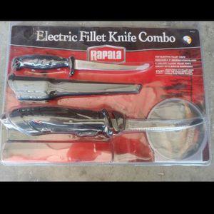 Fishing Filet Knife Set for Sale in Rainier, WA