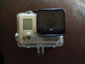 LIKE NEW GO PRO HERO 3+ WITH BATTERY AND CASE for Sale in Fullerton, CA