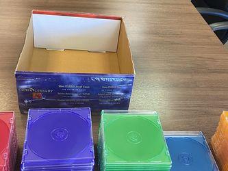 Slim CD/DVD Jewel Cases & Blank CD's for Sale in Folsom,  CA