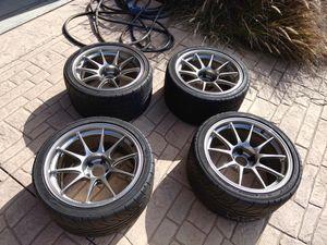 Wedsport TC105 18×10.5 5×114.3 w/ AD08r tires for Sale in San Diego, CA