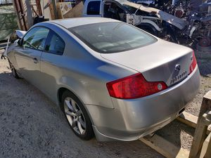 2004 Infiniti G35 Coupe Part Out for Sale in Sacramento, CA