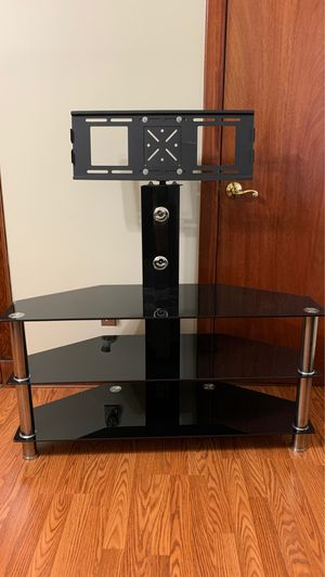 Glass TV Stand for Sale in North Arlington, NJ