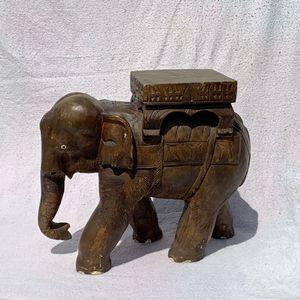 Antique wooden elephant for Sale in Sterling, VA