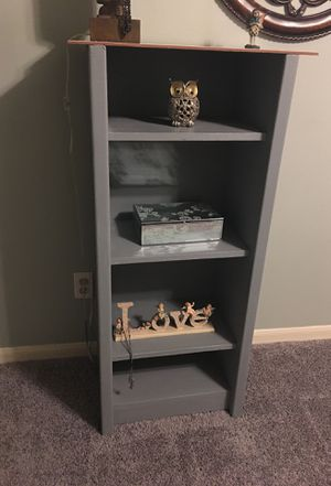 Little girls purple solid wood shelves for Sale in Spring, TX