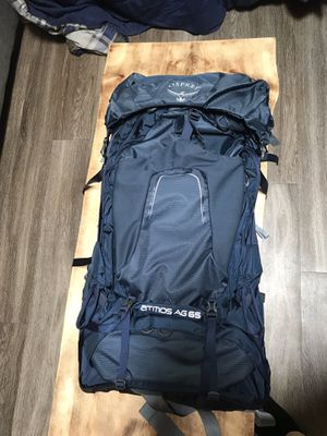 Osprey Atmos AG 65 hiking backpack- Men's Large for Sale in Westminster, CO