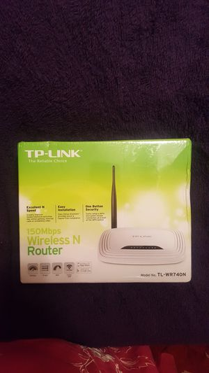 TP LINK wireless N router 150 mbps. New in the plastic wrapped box for Sale in Rock Hill, SC