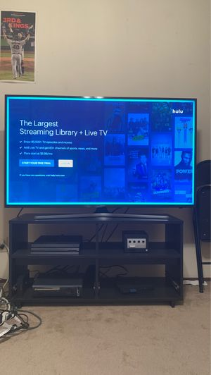 55 IN SAMSUNG 4K UHD TV for Sale in Castro Valley, CA
