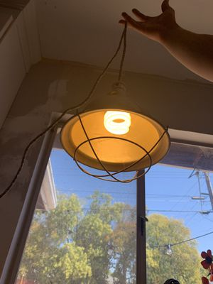 Hanging Rustic Lamp for Sale in Sacramento, CA