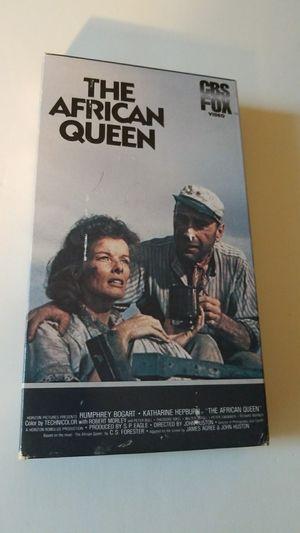 Rhe african queen vhs movie for Sale in Davie, FL