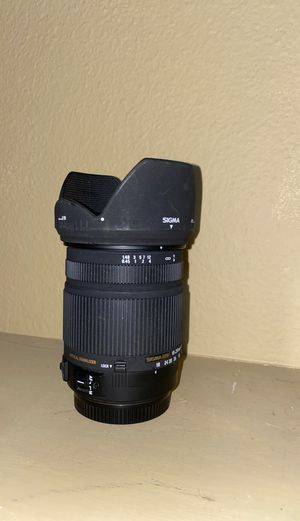 Sigma DC 18-250mm 3.5-6.3 HSM lens for canon EF mount zoom DSLR for Sale in Tempe, AZ
