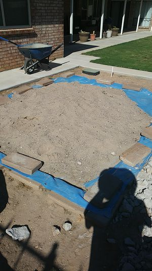 Free sand mix for cement work 1 1/2 tons for Sale in El Paso, TX