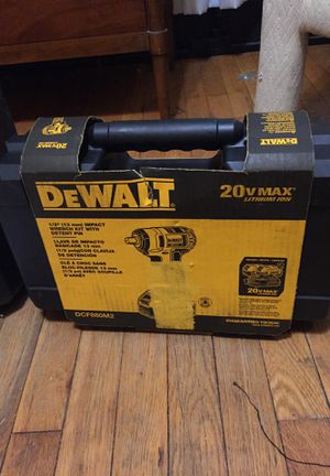 DeWalt 1/2 inch impact wrench kit with detent pin new in box for Sale in Cleveland, OH