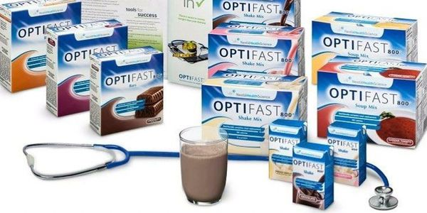Optifast ready-to-drink Strawberry Shake Case of 27