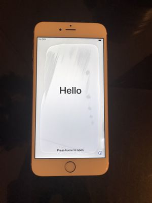 IPhone 6s Plus 64gb! Clean IMEI T-mobile Rose Gold for Sale in Fountain Valley, CA