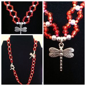 Handcrafted necklace made in the USA by me EVA for Sale in Alexandria, VA