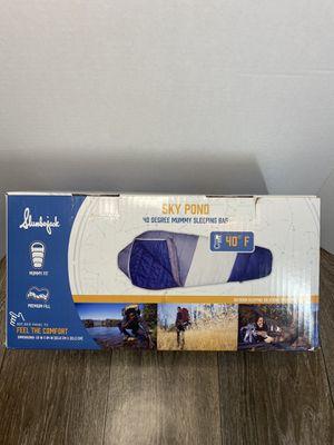 Slumberjack Sky Pond 40 Degree Mummy Sleeping Bag for Sale in Atlanta, GA