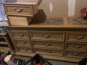 Dresser, Mirror, Nightstand for Sale in Waldorf, MD