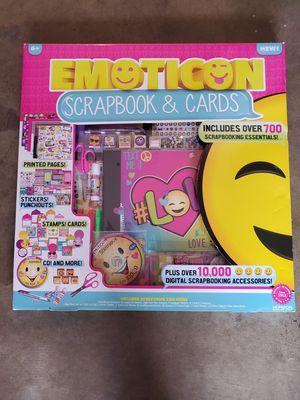 New Emoji scrapbook set for Sale in Modesto, CA