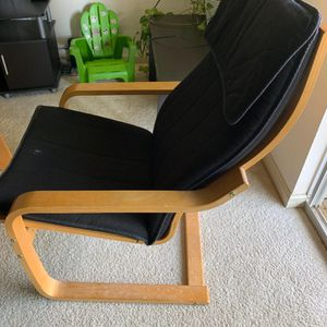 Ikea Rocking Chair & Foot Rest for Sale in Ashburn, VA