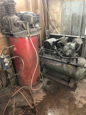 2 air compressors for Sale in Windsor, NY