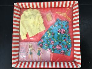 Vintage Barbie 1969 #3407 MIDI Mood outfit in original package Barbie PJ Stacey for Sale in Homer Glen, IL