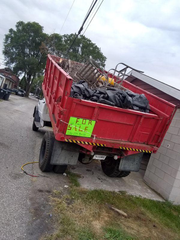 62 Chevy truck with hidraulic dump
