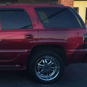 "22"" 6 Lug KMC Rims with Tires for Sale in Memphis, TN"