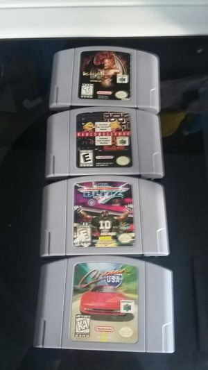 Nintendo 64 games for Sale in Buda, TX