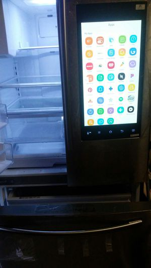 Digital technology refrigerator for Sale in Houston, TX