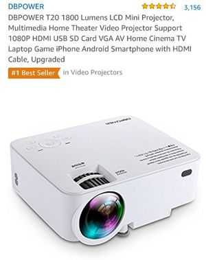 Dbpower led projector for Sale in TN, US