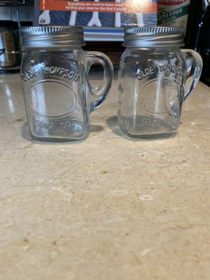 Mason Jar Salt and Pepper Shakers for Sale in Riverside, CA