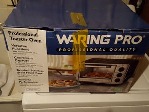 Warning Pro Professional Toaster Oven for Sale in Burke, VA