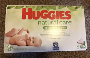 Size 1 huggies diapers and wipes for Sale in Renton, WA