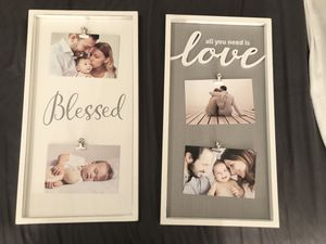 Brand new picture frames 9.5x18, $10 each for Sale in Kansas City, MO