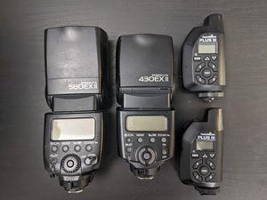 PocketWizard Plus III, Canon 580EX II, Canon 430EX II flash Speedlite kit for Sale in Gilbert, AZ