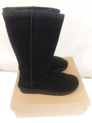 UGG BLACK HIGH WOMAN BOOTS for Sale in Meherrin, VA