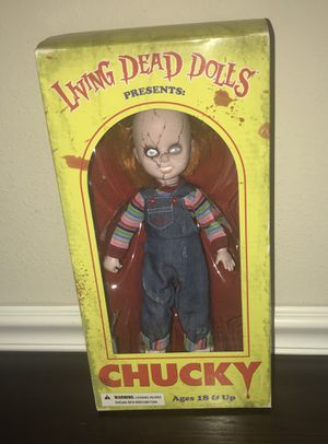 New Living Dead Doll Chucky Firm $50 for Sale in Port St. Lucie, FL