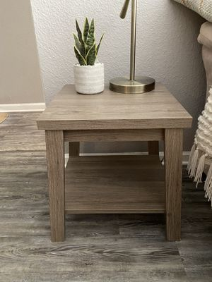Rustic Oak End Table/ Night Stand for Sale in Union Park, FL
