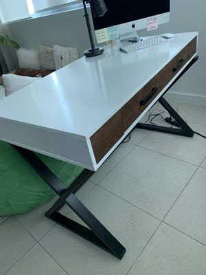 Fold Out White Desk for Sale in Miami, FL
