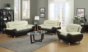 Beige/Brown Leather Living Room Set for Sale in Washington, DC
