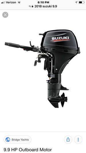 2018 Suzuki 9.9 efi for Sale in US