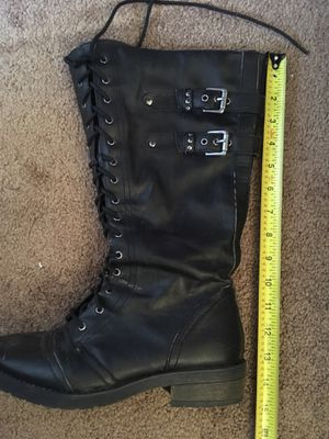 Long black boots for Sale in Santa Ana, CA
