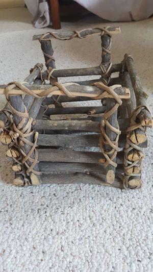 All solid hand made basket for Sale in Harrisonburg, VA