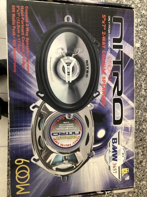 "Car audio speakers 5""x7"" 2-way Coaxial BRAND NEW for Sale in Phoenix, AZ"