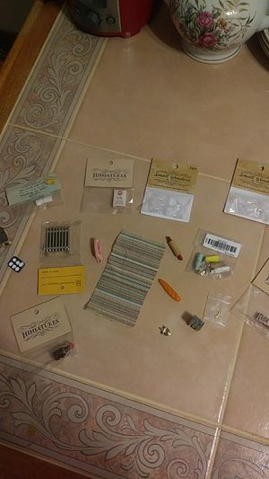17 PCS. DOLL HOUSE MISCELLANEOUS for Sale in Baltimore, MD