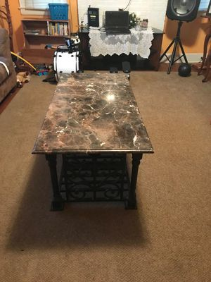 Marble coffee table for Sale in Durham, NC
