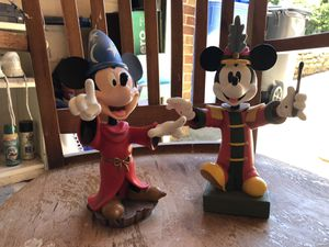 Disney-Mickey Mouse ceramic statues for Sale in Upper Saint Clair, PA